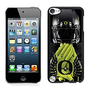 Oregon Ducks 03 Black Case Cover for iPod Touch 5 Grace and Cool Design by hongy
