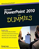 PowerPoint 2010 For Dummies Front Cover