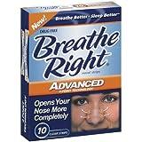 (100 Strips) Breathe Right Advanced Nasal Strips