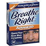 (100 Strips) Breathe Right Advanced Nasal Strips