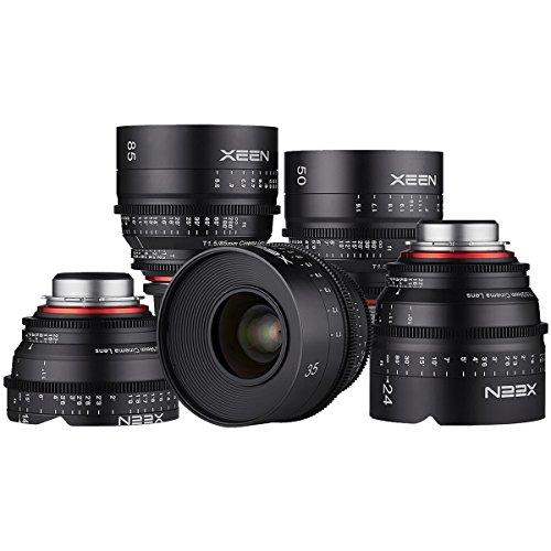 Rokinon-Xeen-14mm-24mm-35mm-50mm-85mm-Pro-Cine-Lens-Bundle-for-Video-DSLR-Canon-EF
