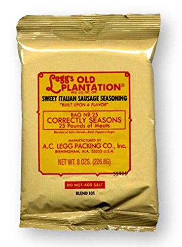 A.C. Legg INC Sweet Italian Sausage Seasoning (Ac Leggs Sausage Seasoning compare prices)