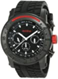 red line RL-10121 Stainless Steel Watch with Black Strap
