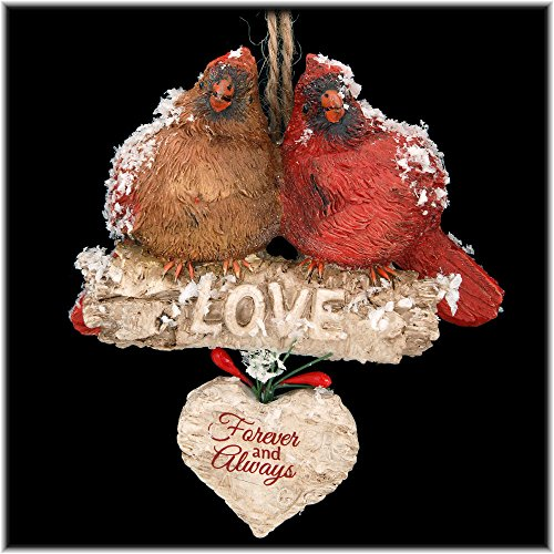 Kurt Adler Cardinal Ornament, 4.5 Inches