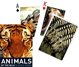 Piatnik playing cards - Animals of the World