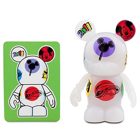 "Vinylmation 2011 Series 3"" Figure White Tossed"