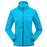 """ON THE SANDS Women's Winter 2in1 Waterproof Hiking Outdoor Ski Snow Jackets Acid blue Size M:Chest 41"""""""