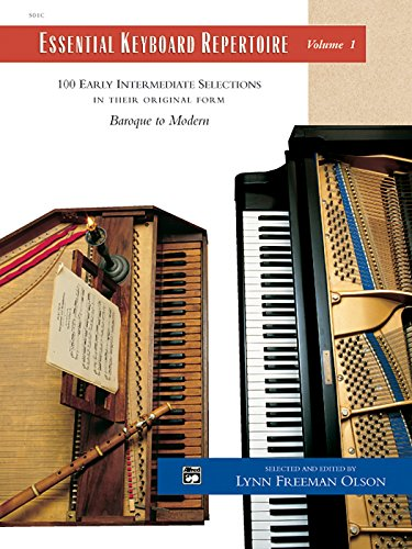 Essential Keyboard Repertoire, Volume 1: 100 Early Intermediate Selections in Their Original Form: Baroque to Modern