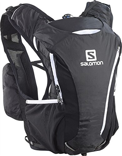 B00F9PEURU Salomon Skin Pro 10+3 Set Hydration Pack, Bright Red/White