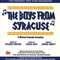 The Boys From Syracuse (1997 Studio Cast)