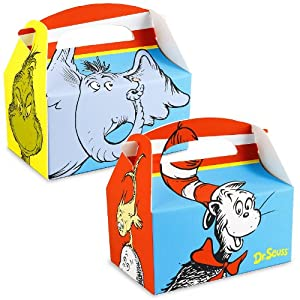 Dr. Seuss Empty Favor Boxes (4)