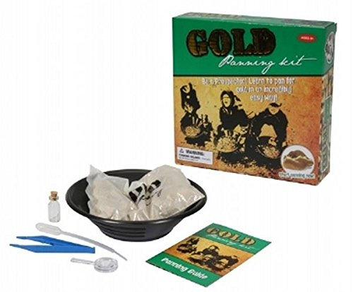 Children's Gold Panning Craft Kit (Kids Gold Panning Kit compare prices)