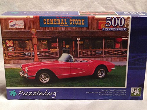 Puzzlebug, CLASSIC RED CONVERTIBLE, 500 Pieces