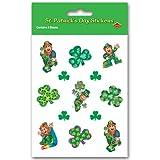 Leprechaun Stickers Party Accessory (1 count) (4 Shs Pkg)