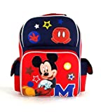 "Disney Mickey Mouse - Funny Things Collection 15"" Large Size School Backpack"