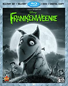 Frankenweenie Four-disc Combo Blu-ray 3dblu-raydvd Digital Copy by Buena Vista