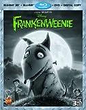 Frankenweenie [Blu-ray 3D + Blu-ray + DVD + Digital Copy] (Sous-titres français)