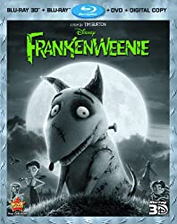 Frankenweenie 3D [3D Blu-ray + Blu-ray + DVD + Digital Copy]
