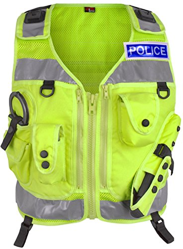 Light Hawk Pro Hi Visibilty Reflective Tactical Patrol Vest (Large)