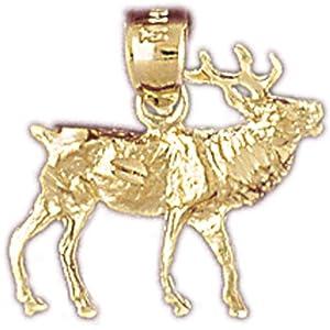 CleverEve's 14k Gold Charm Alaska 15 - Gram(s)