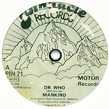 MANKIND - Dr. Who - 7inch x 1
