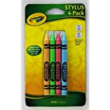 Crayola 4 Pack Stylus for use with Nintendo DS Lite & DSi