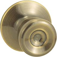 Steel Pro Hall And Closet Lockset-AB CP TULIP PASSAGE LOCK
