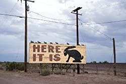 Here It Is, All Right - or Nearby - The Route 66 Rabbit 16x20-inch Photographic Print by Carol M. Highsmith
