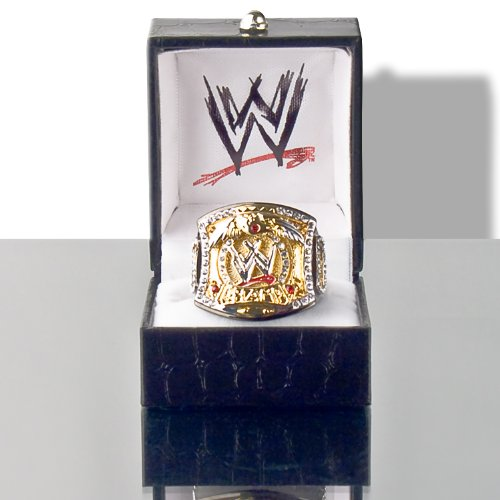 WWE Spinning Championship Replica Finger Ring (Womens Size)