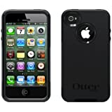 iPhone 4/4S Black Commuter Series Otter Box