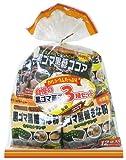 沖縄パイオニアフーズ 自慢の黒ゴマ菓子3種セット 228g