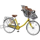 マルイシ(Maruishi) ふらっか~ず スティーナ FRSTP263H マスタードイエロー Y62E 子供乗せ自転車