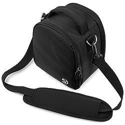 VangoddyTM Elegant Laurel Handbag Camera Bag with Rear Accessory Pocket and Shoulder Strap for Canon DSLR Camera EOS 550D (EOS Rebel T2i / EOS Kiss X4) EOS 500D (EOS Rebel T1i / EOS Kiss X3) EOS 60D EOS 7D Canon EOS 50D EOS 5D Mark II