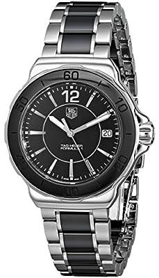 Tag Heuer Women's 'Formula 1' Black Dial Ceramic Quartz Watch WAH1210.BA0859