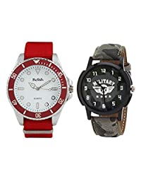 Relish Analog Round Casual Wear Watches For Men - B01A570Y1M