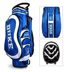 Brand New Duke University Blue Devils Medalist Cart Bag by Things for You