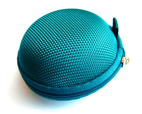 Teal (Green/Blue) Case For Plantronics Backbeat Go , Marque 2 M165 , Marque M155 , M55 M50 M28 M25 M24 M20 , Savor M1100 , M100 Mx100 , Discovery 975 925 Wireless Bluetooth Headset M-165 M-155 M-55 M-50 M-28 M-25 M-24 M-20 M-1100 M-100 Mx-100 Bag Holder P