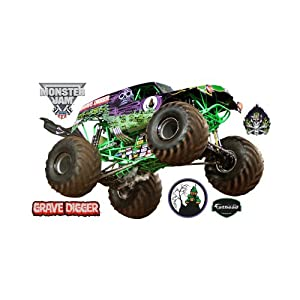 Grave Digger Wall Graphic