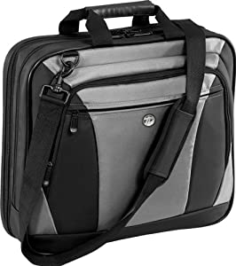 Targus CityLite Top-Loading Case Designed for 16-Inch Laptop, Black/Gray (TBT050US)