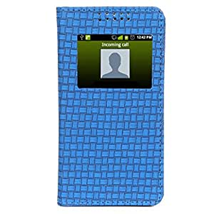 D.rD Flip Cover with screen Display Cut Outs designed for Samsung Galaxy A3