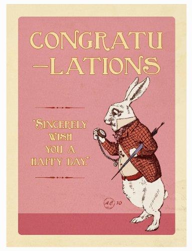 ALICE CARD COLLECTION - Congratulations 10