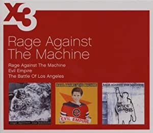 coffret 3 CD :  Rage Against the Machine / Evil Empire / Battle of Los Angeles