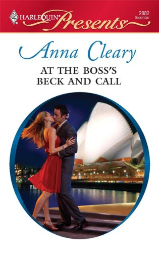 Image for At the Boss's Beck and Call (Harlequin Presents)