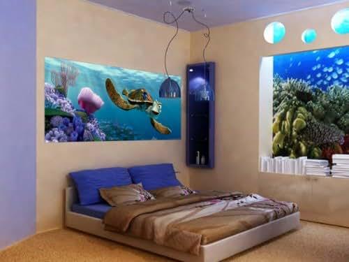 Finding Nemo Kids Wall Mural Wall Mural Wall Decor Children Murals Kids Room
