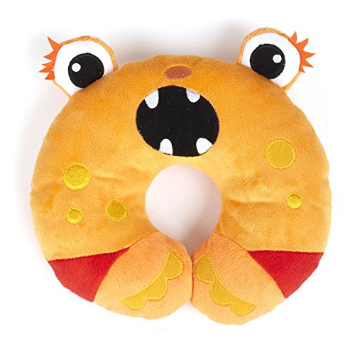 Nuby Monster Neck Support, Orange - 1