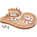 Mainstreet Classics Wooden 29 Cribbage Board