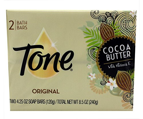 Tone Soap Bath Cream 2 Bars, Cocoa Butter Cocoa Bath