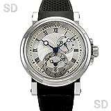 [ブレゲ]BREGUET腕時計 マリーン GMT シルバー Ref:5857ST/12/5ZU メンズ [中古] [並行輸入品]