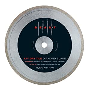 Lackmond 4 5betld 4 1 2 Inch Dry Tile Blade Diamond