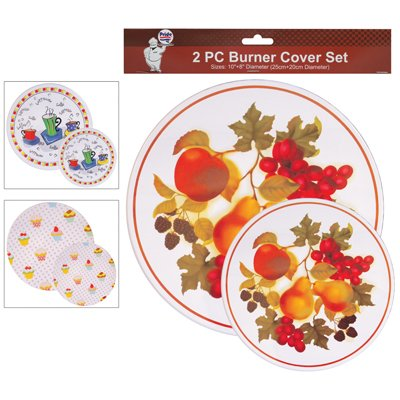 Pride Burner Covers 8 & 10 Inch Round 2 Pack Assorted Designs